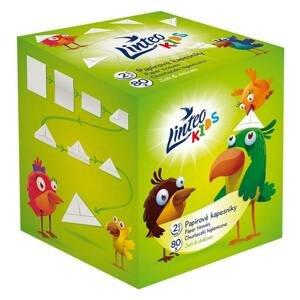 Papírové kapesníky LINTEO KIDS 80 ks BOX