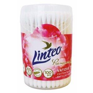 Linteo Premium vatové tyčinky v dóze 100ks