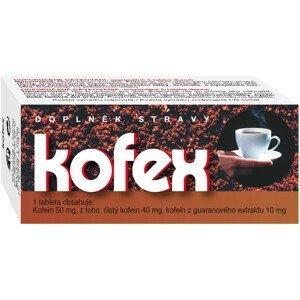 Naturvita Kofex přírodní kofein+guarana 80 tablet