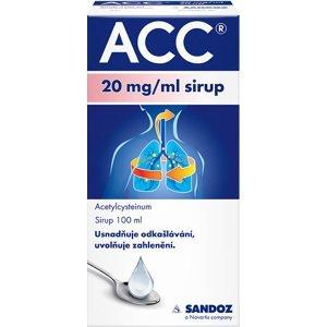 ACC® 20 mg/ml sirup, 100 ml