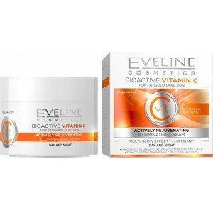 Eveline Cosmetics  Eveline Nature Line - bioaktivní vitamin C - denní a noční krém 50ml