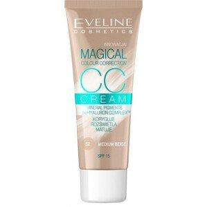 Eveline Cosmetics  Eveline CC Cream Magical Colour Correction - střední béžová 30ml