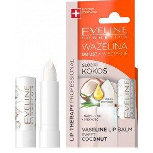 Eveline Cosmetics  Eveline Lip Therapy - balzám na rty - Kokos 3,8g