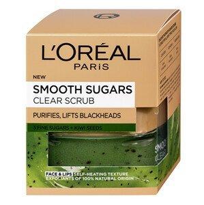 L'Oréal Paris  L´Oréal Paris Smooth Sugars jemný čistící cukrový scrub pro vyčištění pleti 50ml