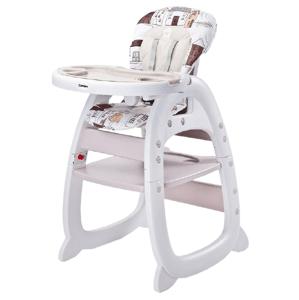 Caretero Jídelní židlička Homee beige