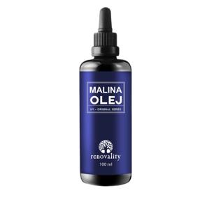 Renovality Malinový olej lisovaný za studena 100ml