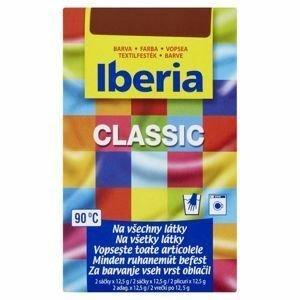 Iberia barva na textil tmavě hnědá 2x12,5g