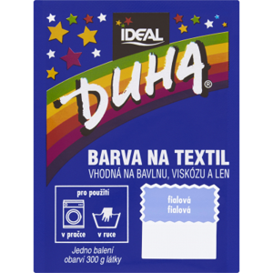 Duha barva na textil č.40 fialová 15g