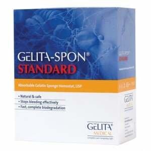 GelitaSpon Standard GS-010 80x50x10mm 10ks