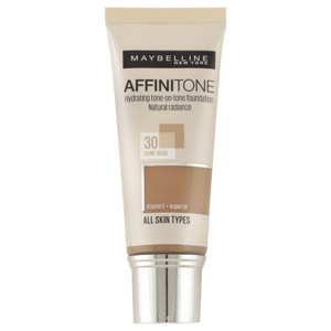 Maybelline Sjednocující make-up s HD pigmenty Affinitone 30 Sand Beige 30ml