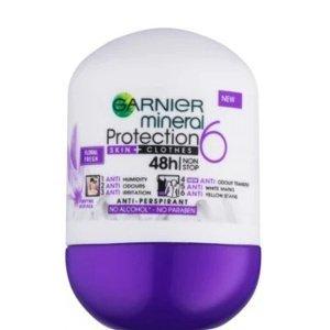 Garnier Protection 6 Floral Fresh Deodorant roll-on s kompletní ochranou 6v1 50ml