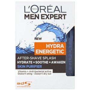 L'Oréal Paris  L´Oréal Paris Men Expert Hydra Energetic Skin Purifier pánská voda po holení 100ml