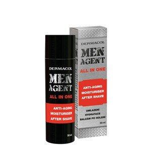Dermacol MEN AGENT Omlazující gel-krém a balzám po holení 50ml