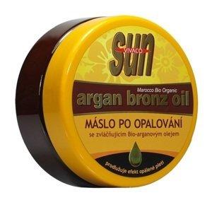 Sun Vivaco Zvláčňující tělové máslo a Bio-arganovým olejem 200ml