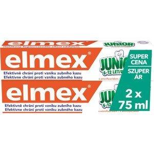 Elmex Dětská zubní pasta Junior Duopack 2x75ml