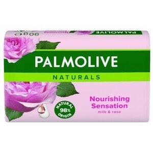 Palmolive mýdlo Naturals Milk & Rose 90g