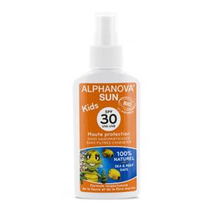 Alphanova  BIO Opalovací krém ve spreji pro děti SPF 30, 125 g