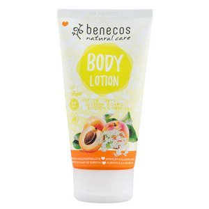 Benecos  Tělové mléko meruňka a bezinkový květ BIO VEG 150ml