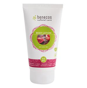 Benecos Tělové mléko granátové jablko a růže BIO VEG 150ml