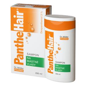 Dr.Müller Panthehair šampon na mastné vlasy 200ml