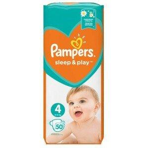 Pampers Sleep&Play Value Pack S4 50ks