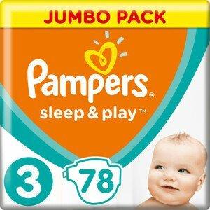 Pampers Sleep&Play Jumbo Pack S3 78ks