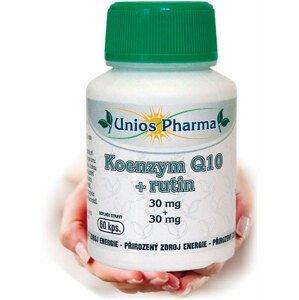 UniosPharma  Unios Pharma Koenzym Q10 30mg+rutin 60 kapslí