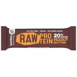 Bombus RAW protein arašídové máslo 50g