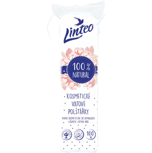 Kosmetické tampóny odličovací Linteo 100ks