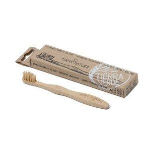 Mama Natura Kartáček na zuby soft mini - bambusový 1ks