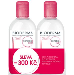BIODERMA Sensibio H2O micelární voda výhodné balení 2x250ml