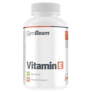 GymBeam Vitamin E unflavored 60 kapslí