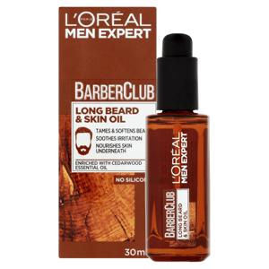 L'Oréal Paris Men Expert Barber Club olej pro plnovous a pleť 30ml