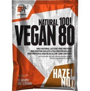 Extrifit Vegan 80 35g lískový oříšek