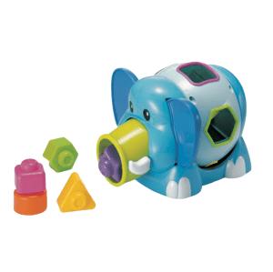 B-Kids  Slon Jumbo s vkládacími tvary