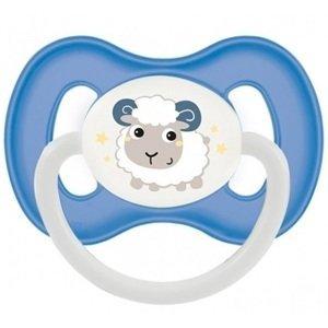 Canpol babies  Šidítko 6-18m kaučukové třešinka BUNNY & COMPANY modré