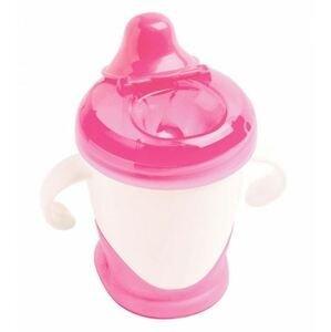 dBb Dětský pohárek úsměv růžová 250ml