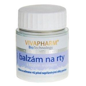 VivaPharm Balzám na rty s kozím mlékem 25ml