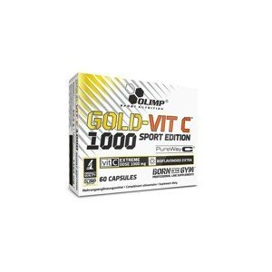 OLIMP, GOLD - VIT C™ 1000 SPORT EDITION, 60 kapslí