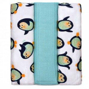 T-tomi  BIO Bambusové pleny, penguins / tučňáci