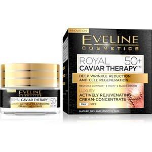 Eveline Cosmetics  Eveline Royal Caviar - Aktivně omlazující denní krém-koncentrát 50+ 50ml