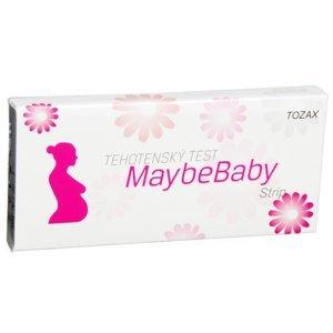 MaybeBaby  Těhotenský test Maybe Baby Strip 2v1