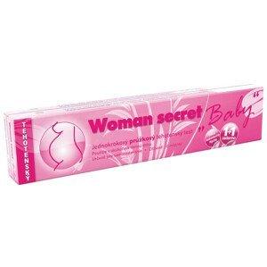 Těhotenský test Woman secret BABY proužkový 2v1