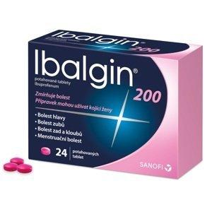 Ibalgin® 200 200mg 24 potahovaných tablet