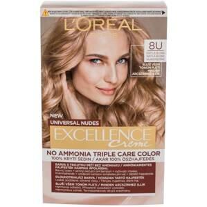 L'Oréal Paris Excellence permanentní barva Universal Nudes 8U Světlá Blond 1ks