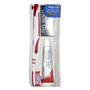 White Glo  Cestovní set - pasta profesional 24g, zubní kartáček a mezizubní kartáčky
