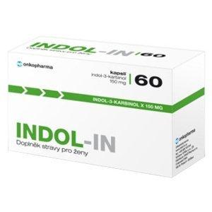 INDOL-IN (cysty HPV myomy bolest prsou) 60 kapslí