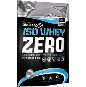 BioTech USA Iso Whey Zero Lactose Free 500g čokoláda/karamel