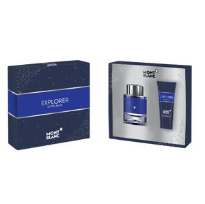 Montblanc Explorer Ultra Blue Set Eau de Parfume 60ml + Shower Gel 100ml