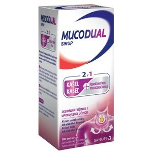 Mucodual sirup 2v1 2,5g/100ml